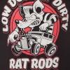 Tee shirt kustom hot rod