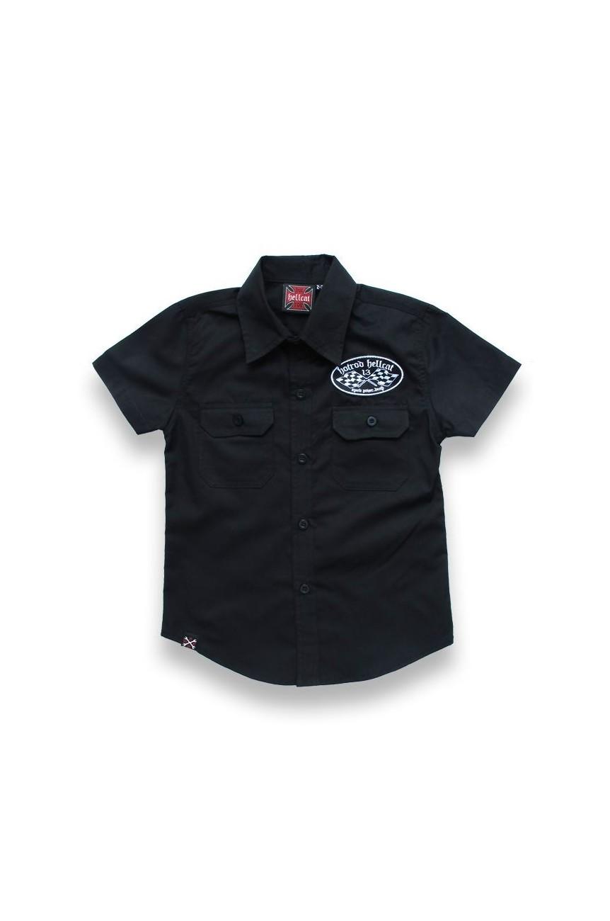 chemise custom hotrod pour enfant