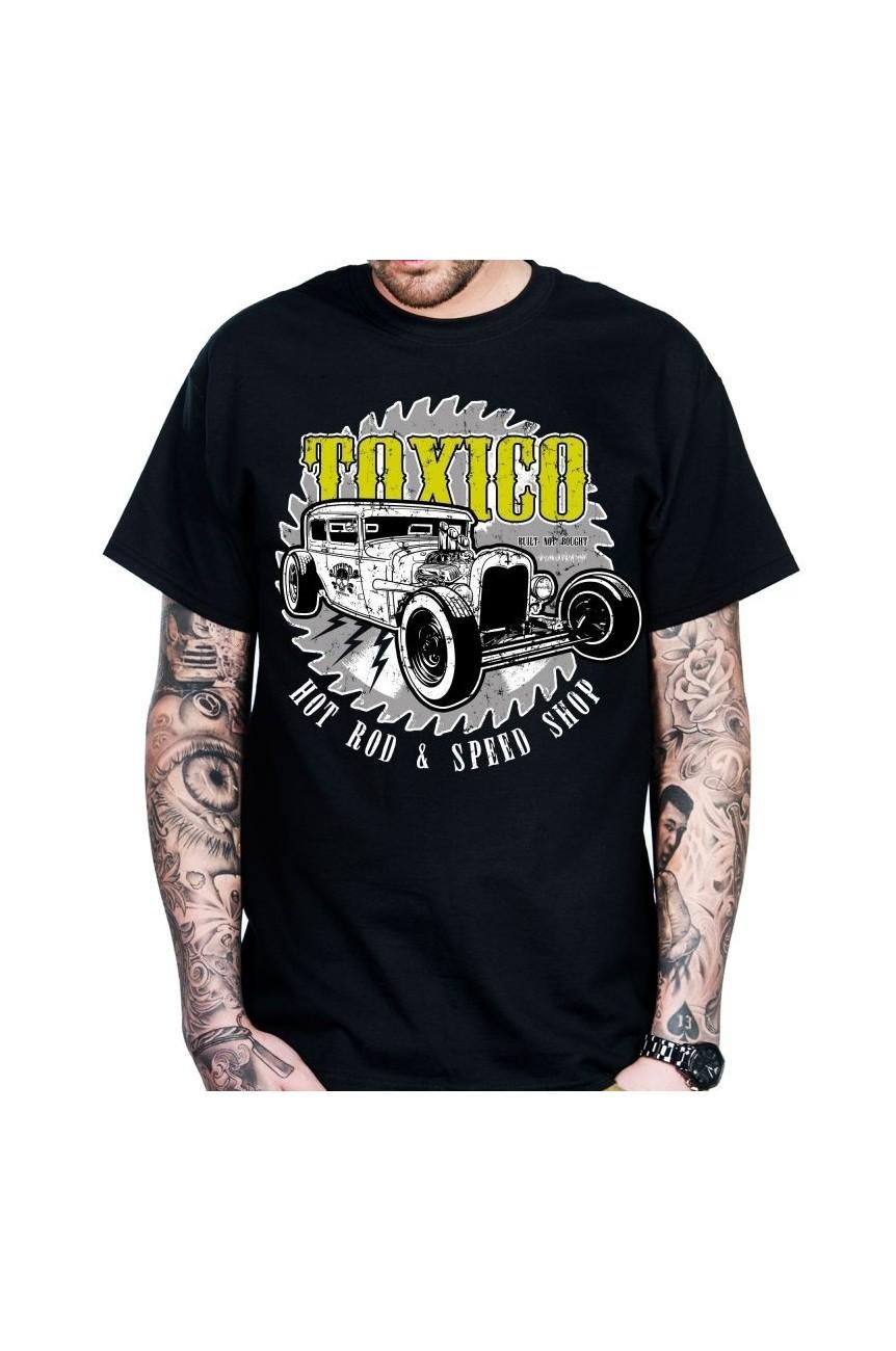 Tee shirt toxico custom hot rod