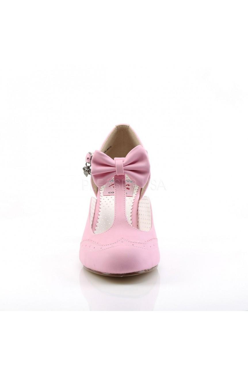 Chaussures rose vintage funtasma