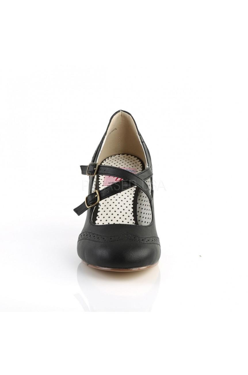 Chaussure noire flapper 35