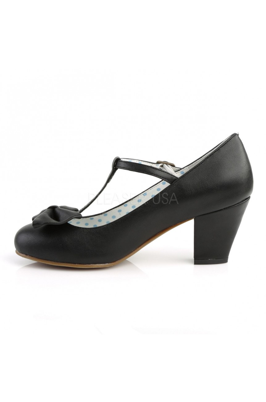 Chaussures retro noire wiggle 50