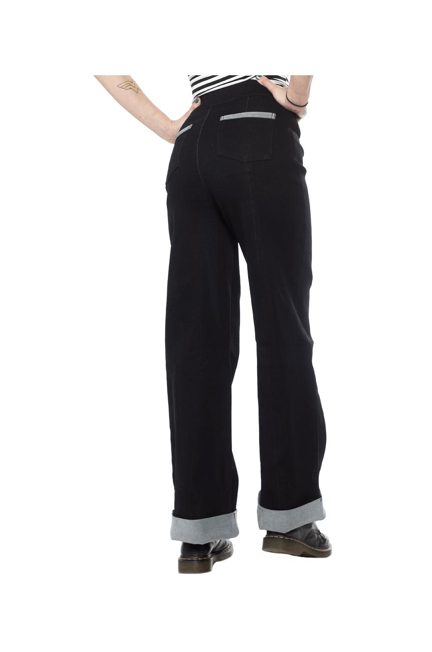 Pantalon jean annee 50 vintage