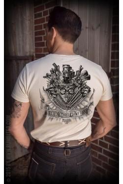 Tee shirt moteur v8