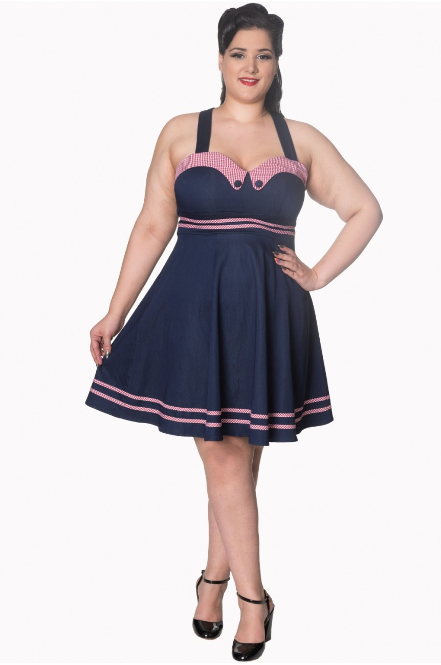 Robe rockabilly xxxxl