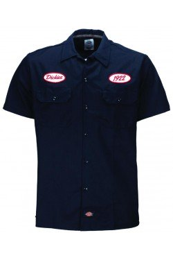 Chemise dickies rontonda south bleue