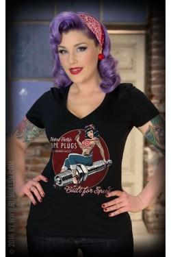 Tee shirt femme custom rumble 59