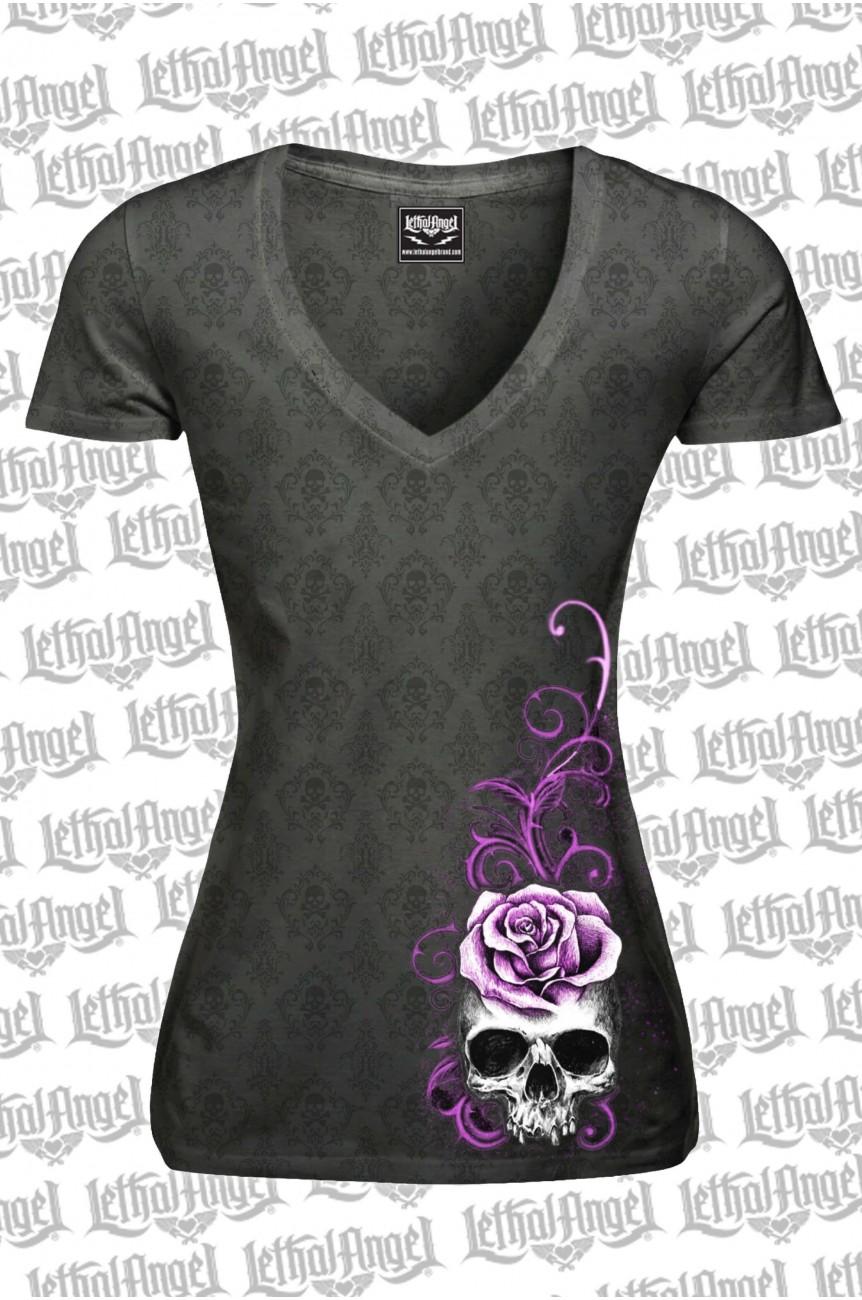 Tee shirt femme lethal angel