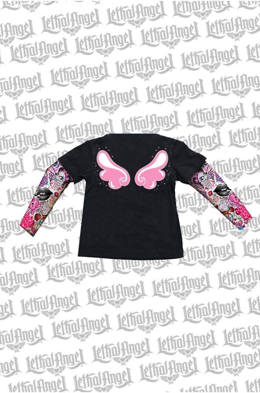 Tee shirt enfant ailes