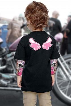 Tee shirt enfant tatouage