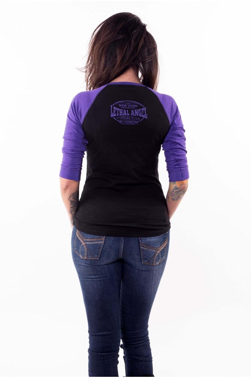 Tee shirt raglan custom femme