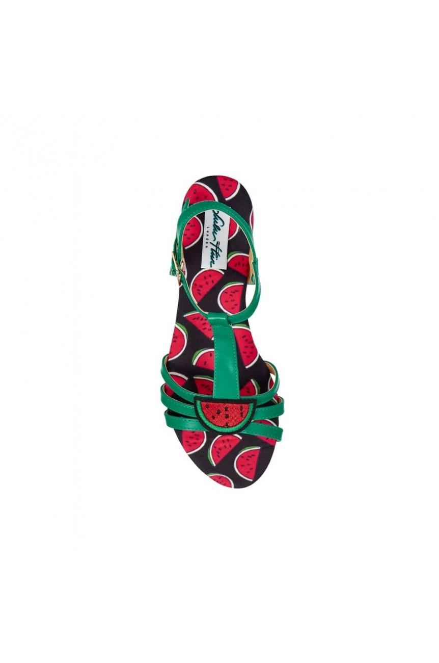 Sandales pin-up lulu hun
