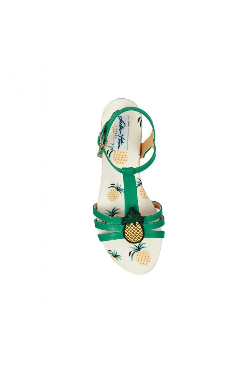 Sandales ananas pinup-Collectif