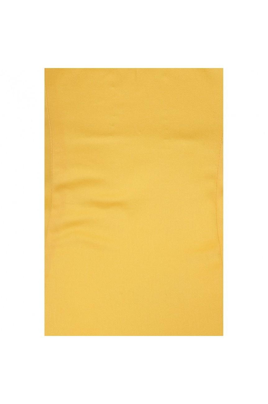 Haut pin-up jaune