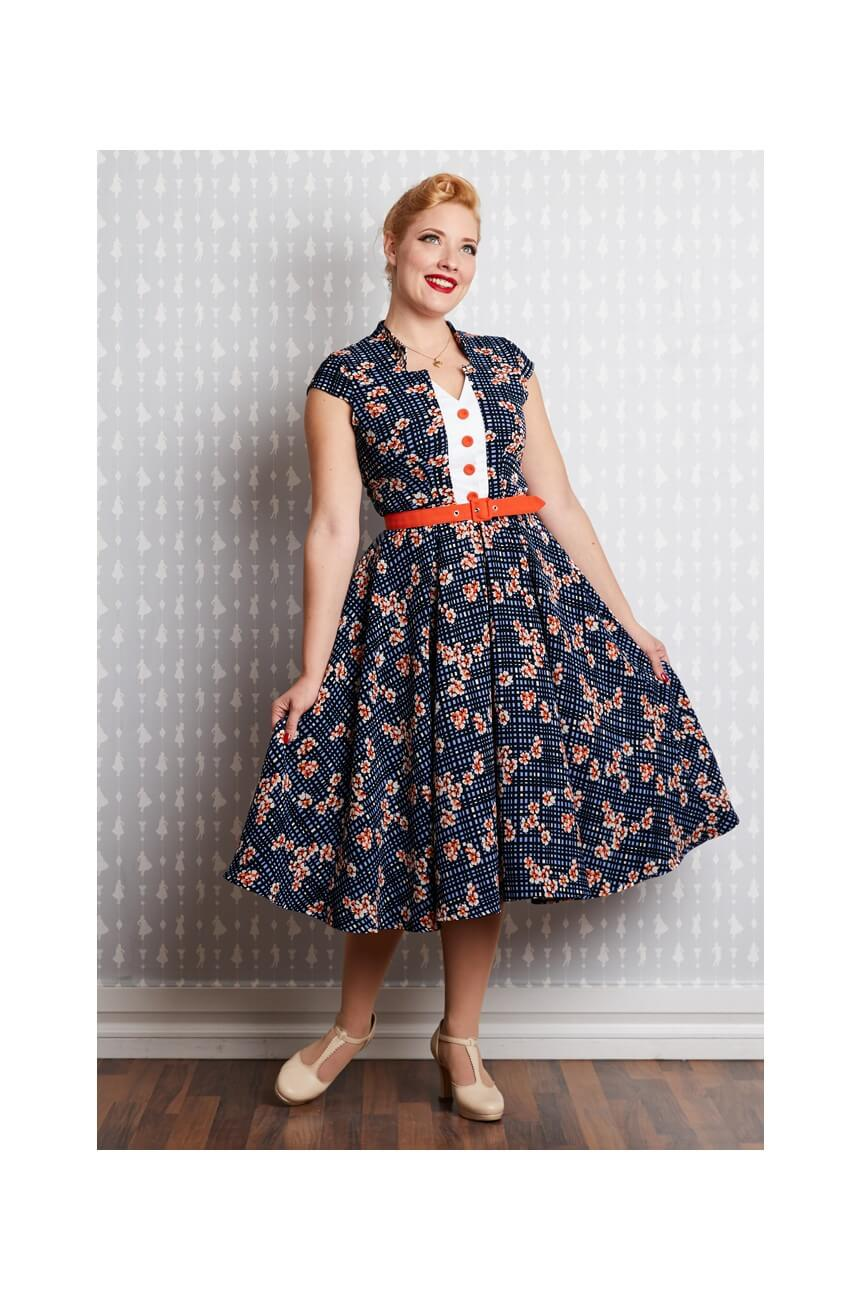 Robe vintage swing grand taille