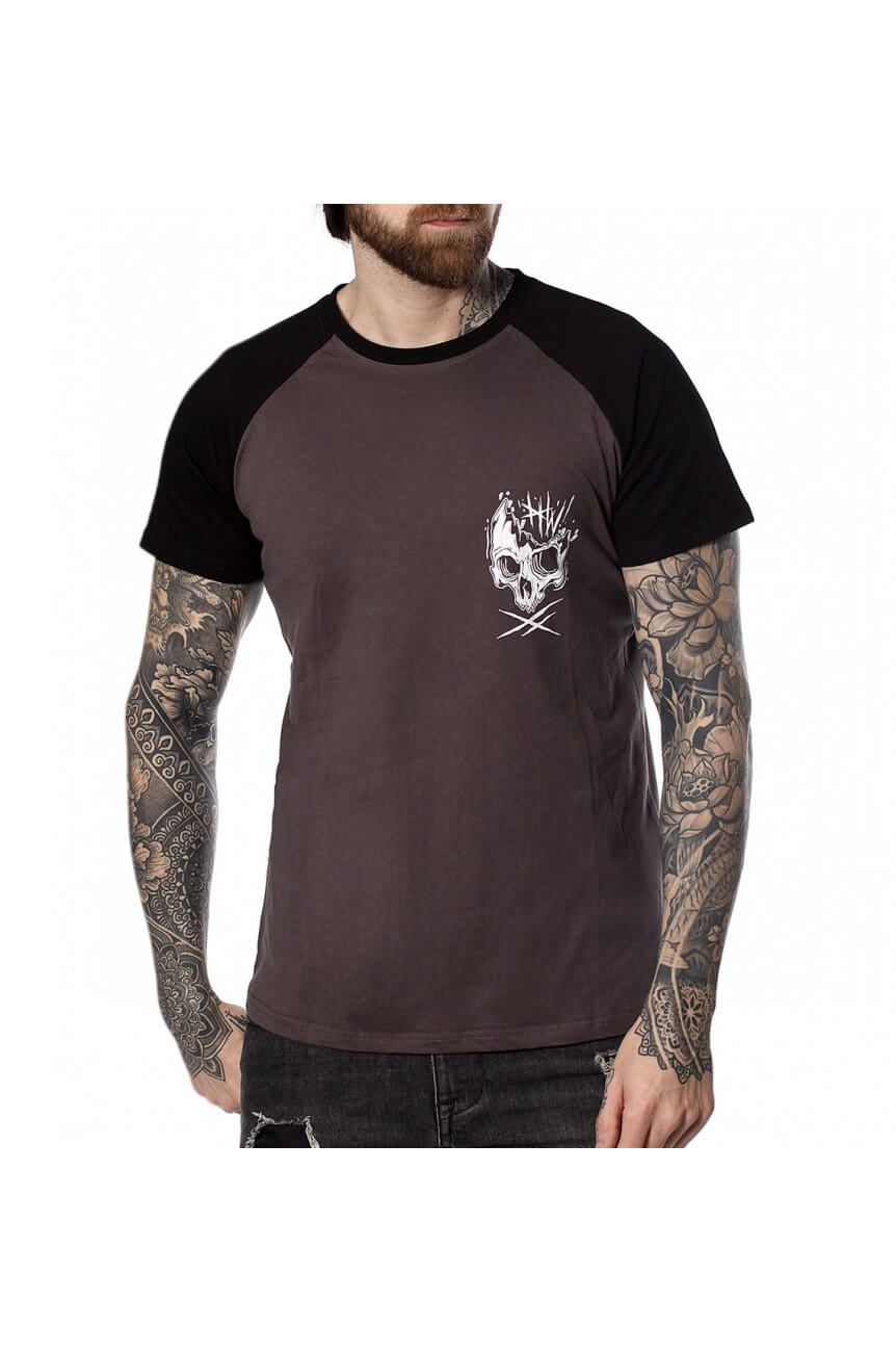 Tee shirt Hyraw zombie raglan