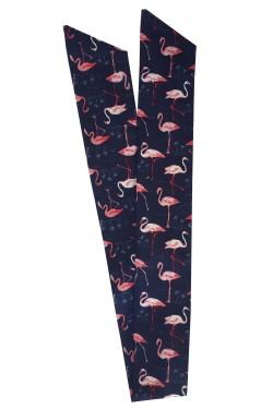 Bandeau cheveux rétro flamingo 1950