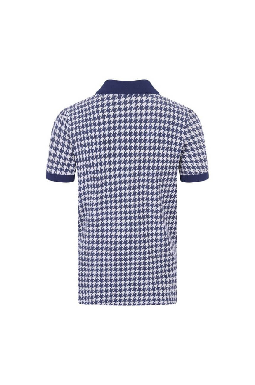 Polo vintage bleu