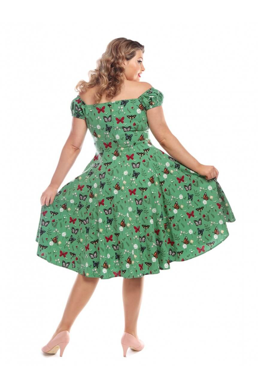 Robe papillons grande taille