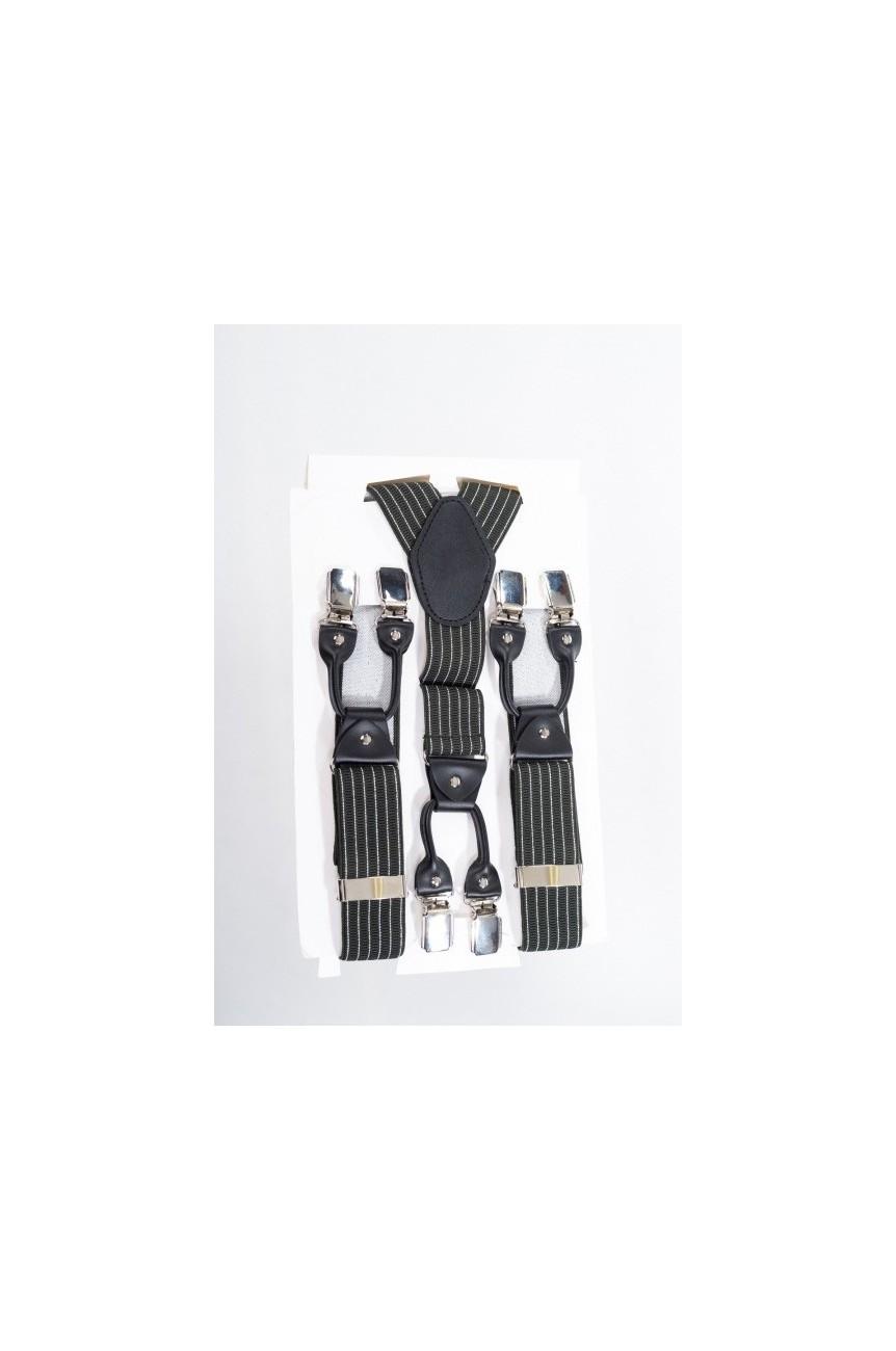 Bretelles vintage rayées