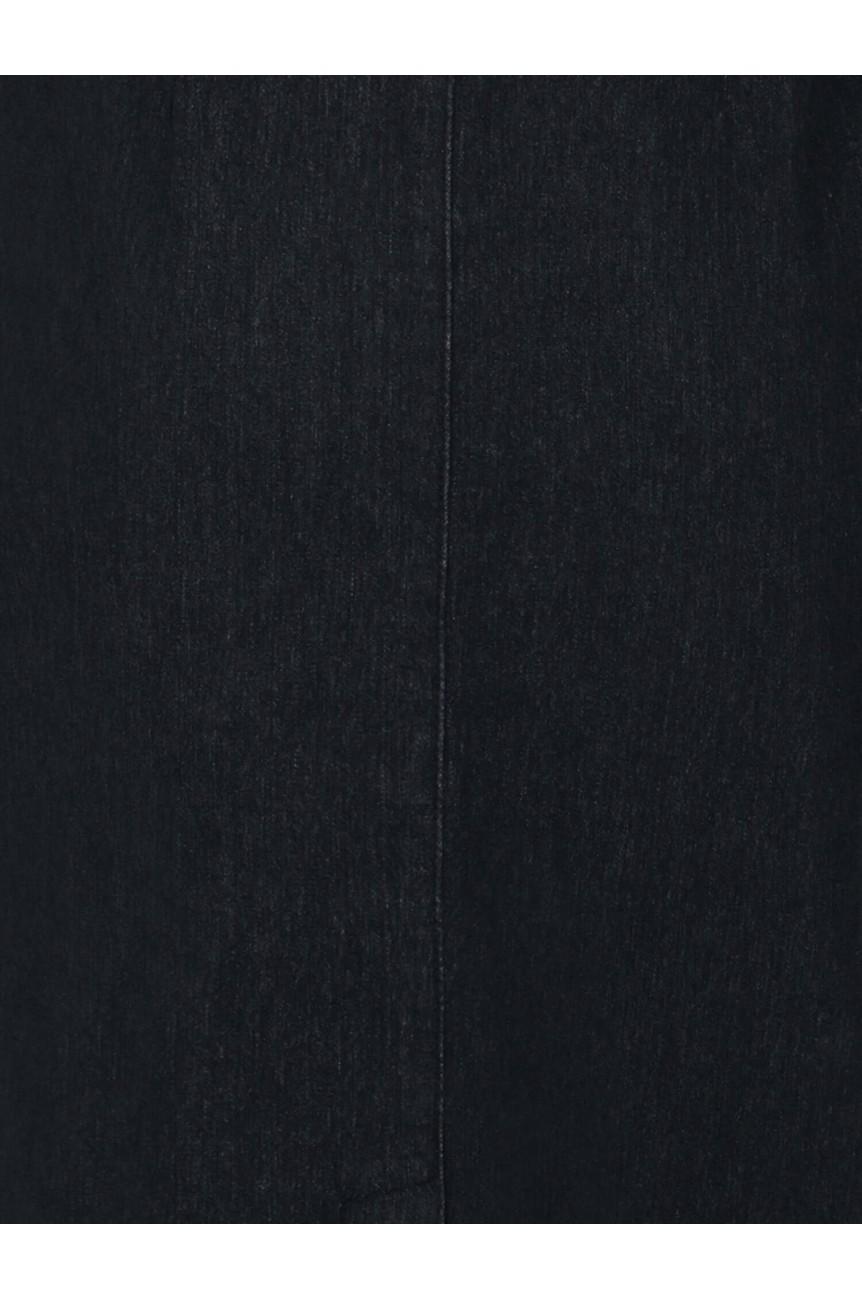 Jupe crayon noire a bretelles
