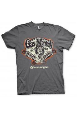 Tees shirt homme gas monkey garage gris