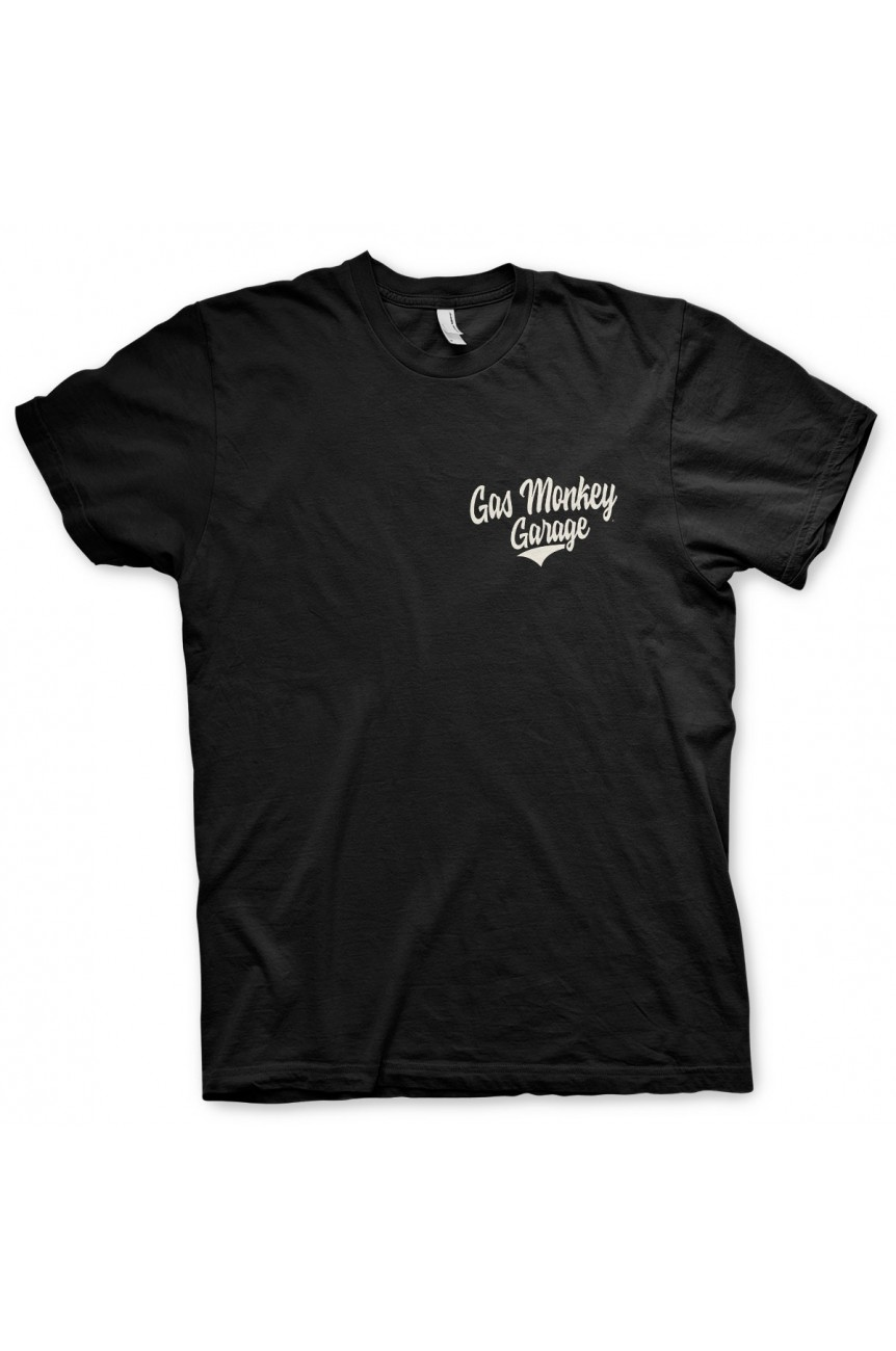 Tee shirt gas monkey garage racing