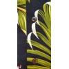 Chemise hawaïenne homme noire et verte