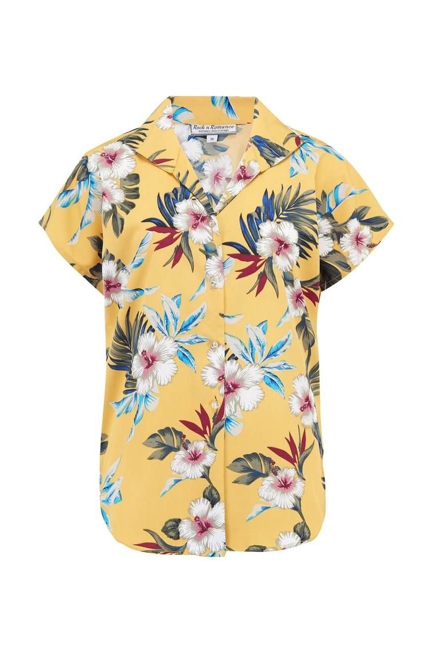 Cache coeur moutarde hawaïenne