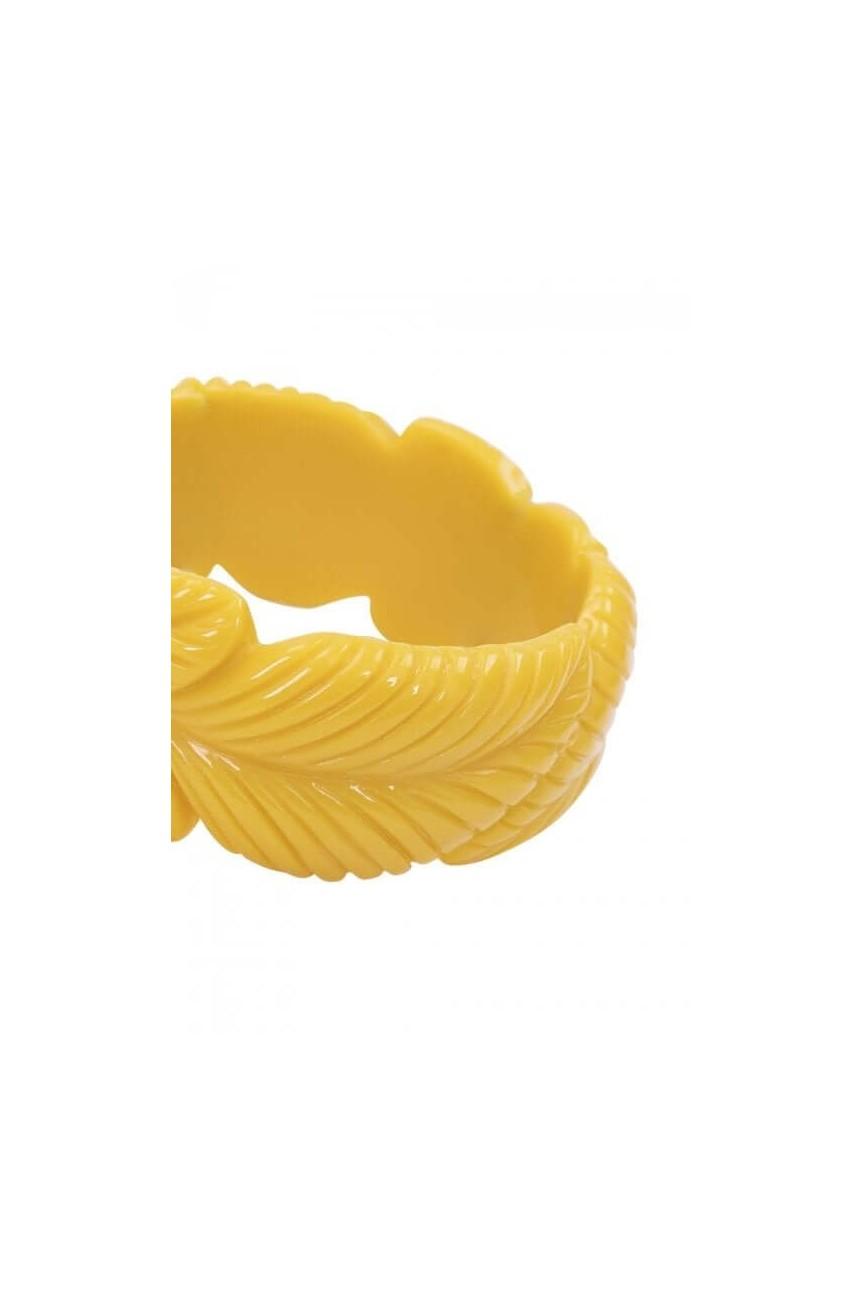 Bracelet vintage jaune