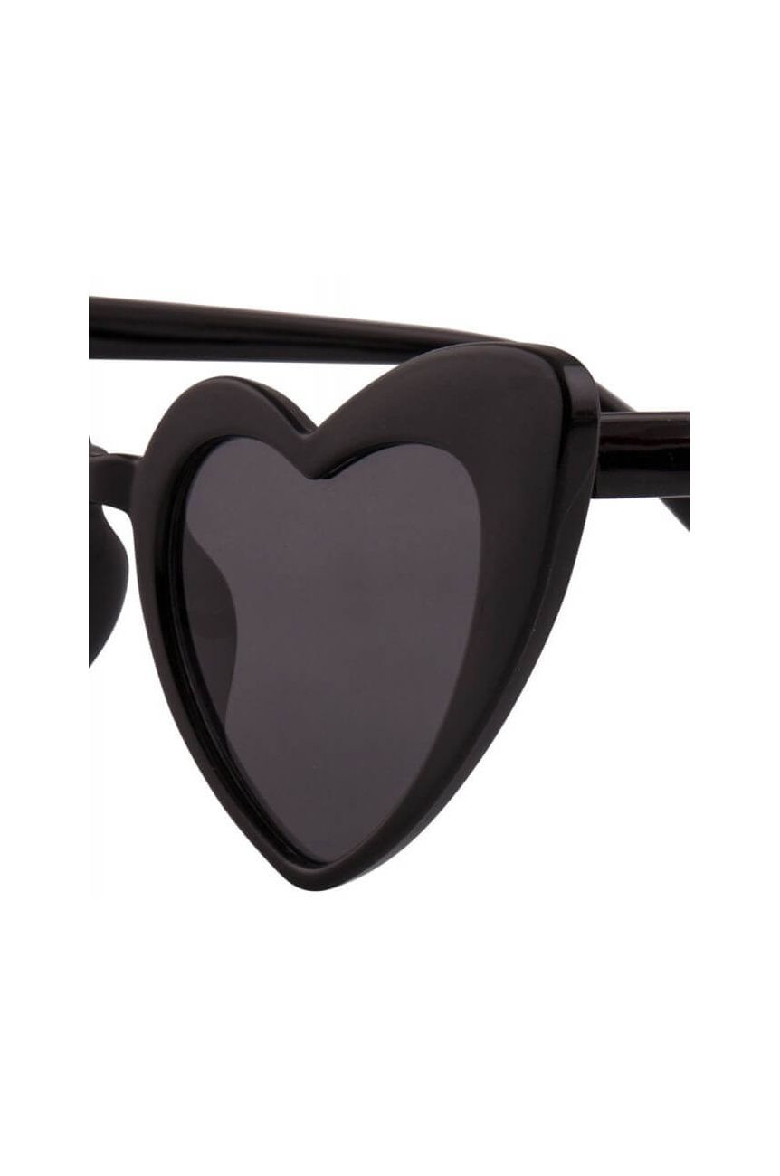 Lunettes coeur pin-up
