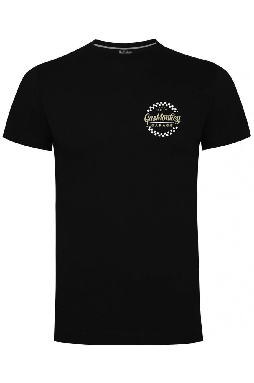 Tee shirt officiel gas monkey garage hot rod