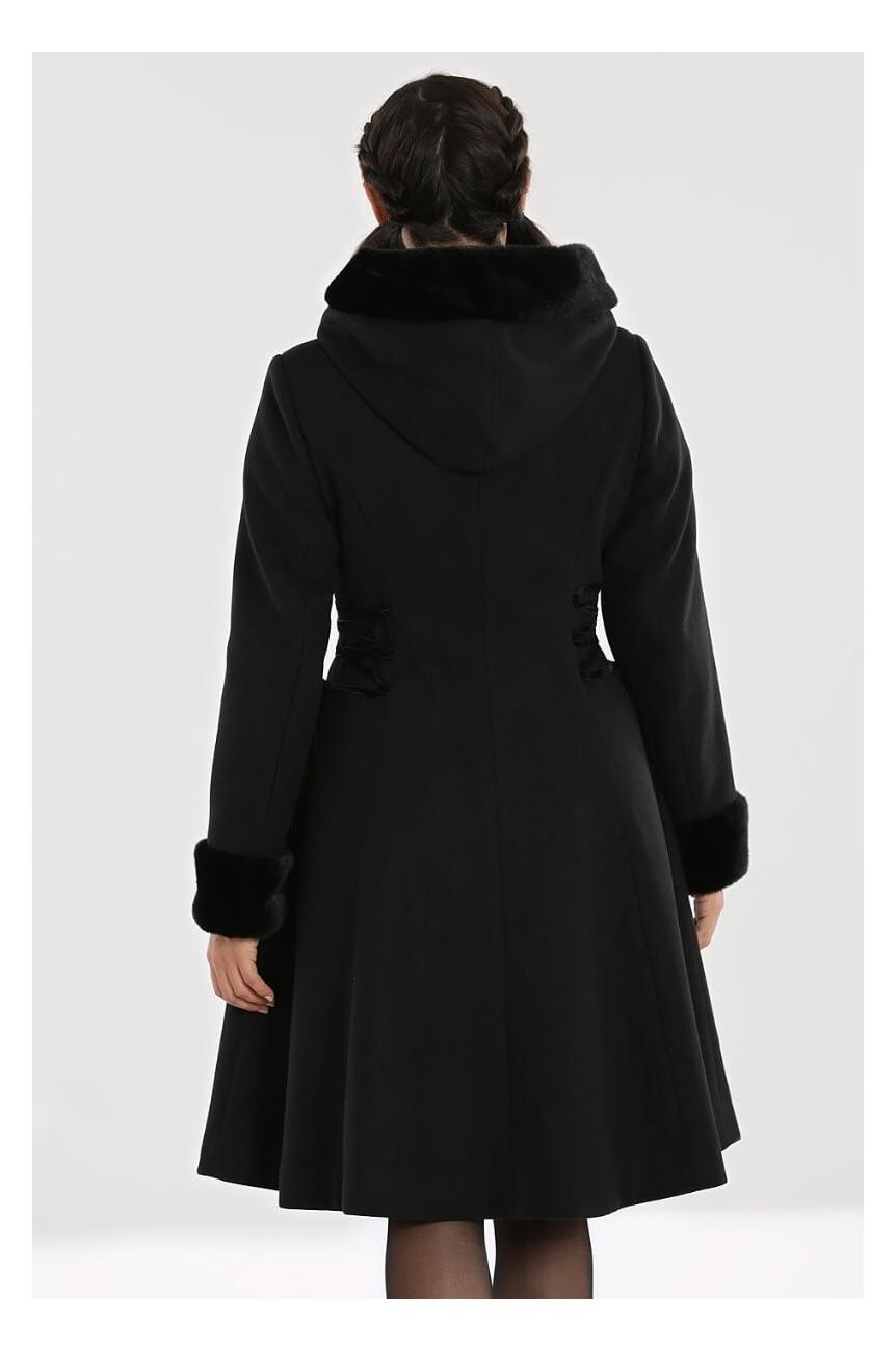 Manteau poche coeur noir