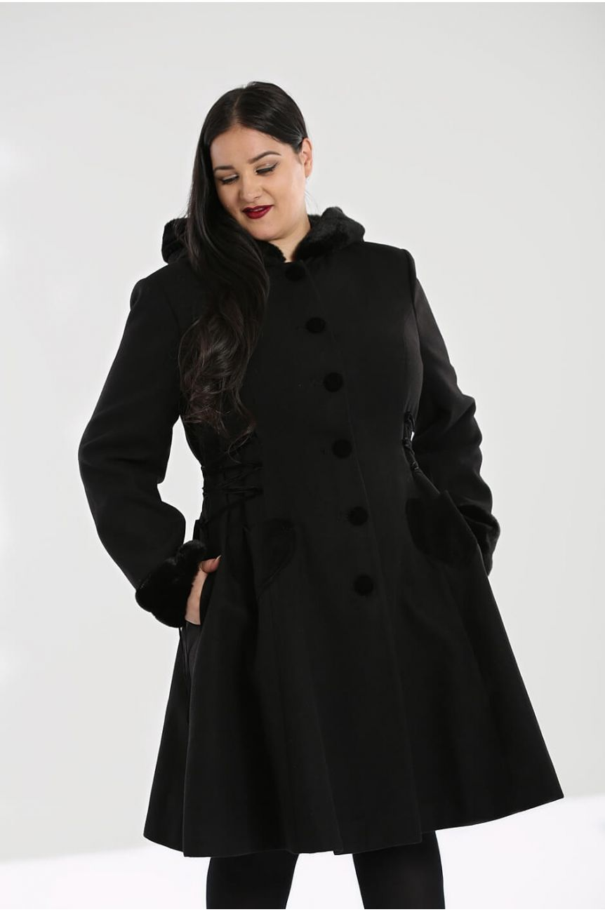 Manteau pin-up hell bunny