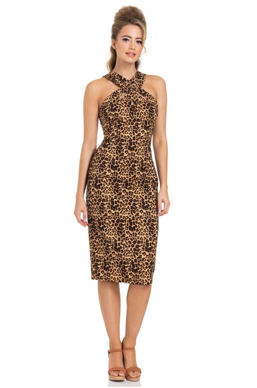 Robe crayon léopard Vixen
