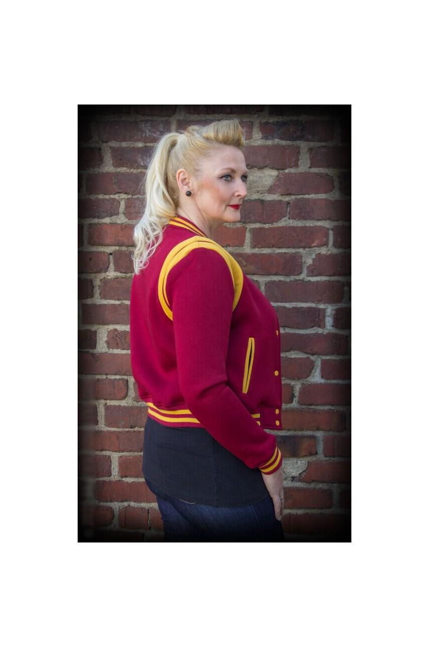 Teddy femme veste american college Rumble59