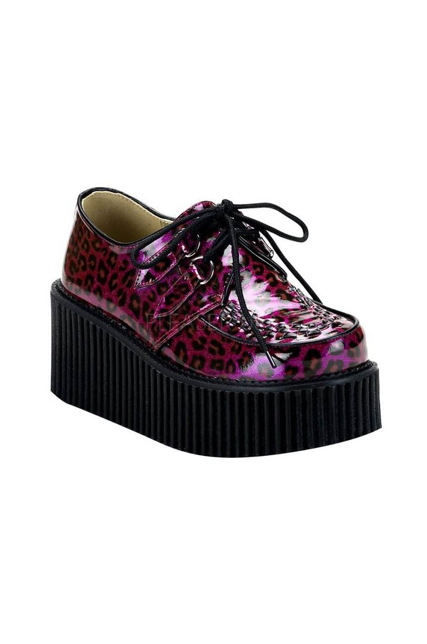 creepers-208 leopard violettes demonia