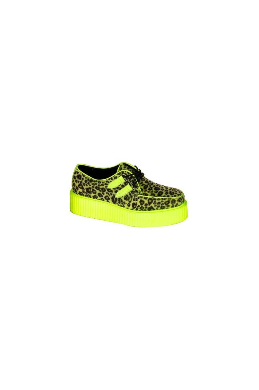 Creeper léopard jaune fluo