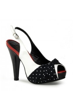Escarpin a pois bettie-09