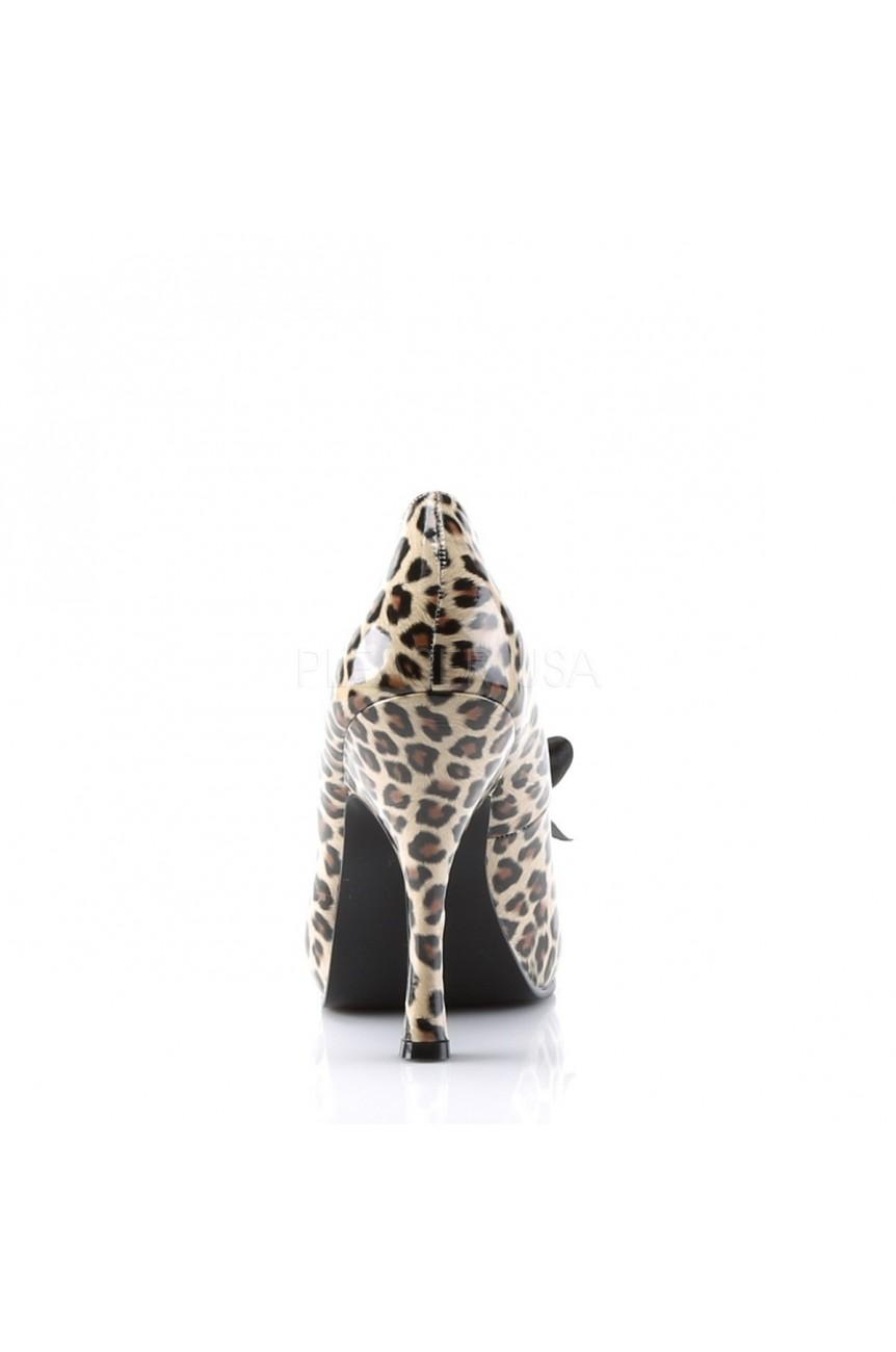 Chaussure pin up leopard cutipie-06