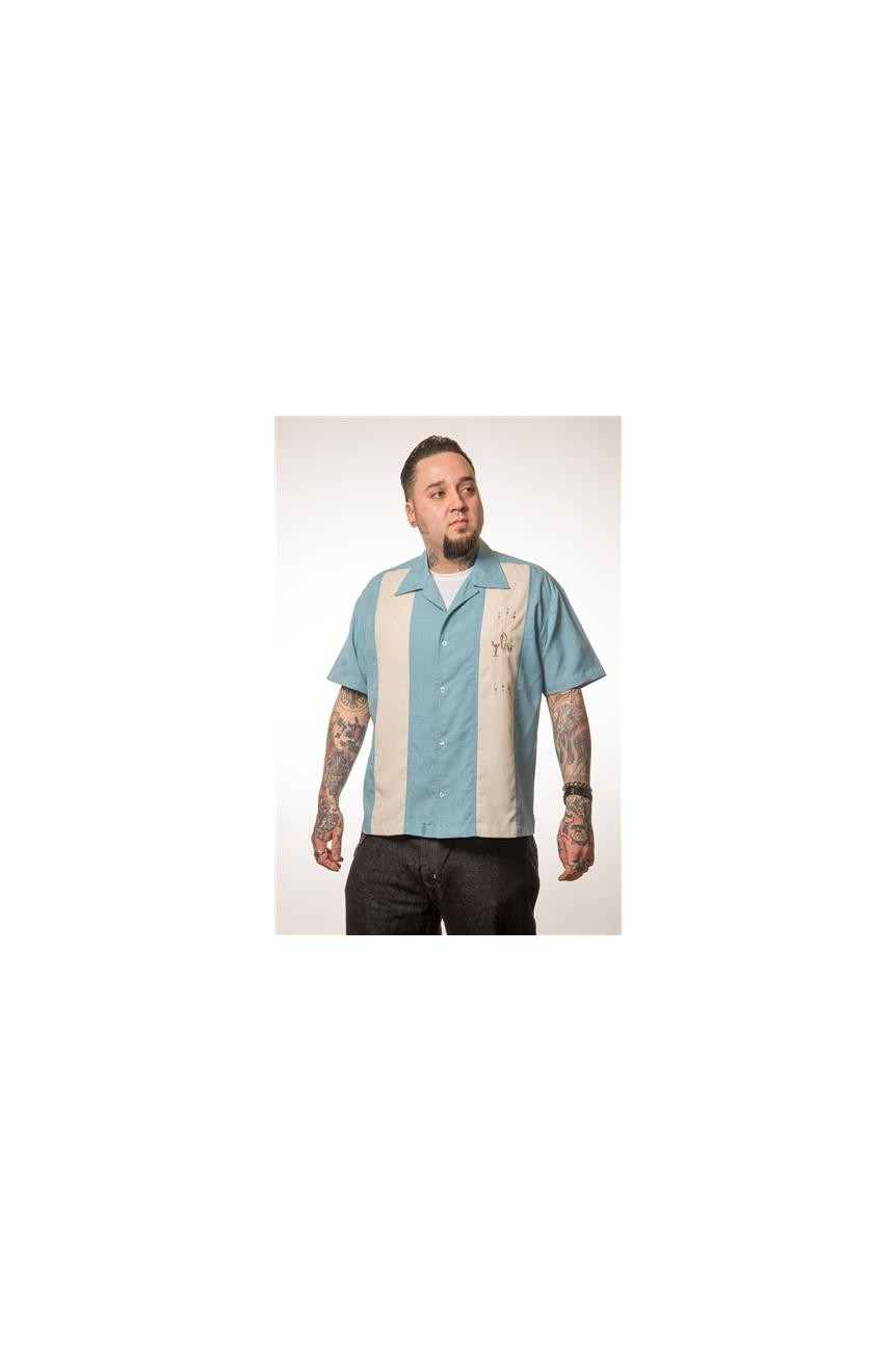Chemise shaker rockabilly steady clothing