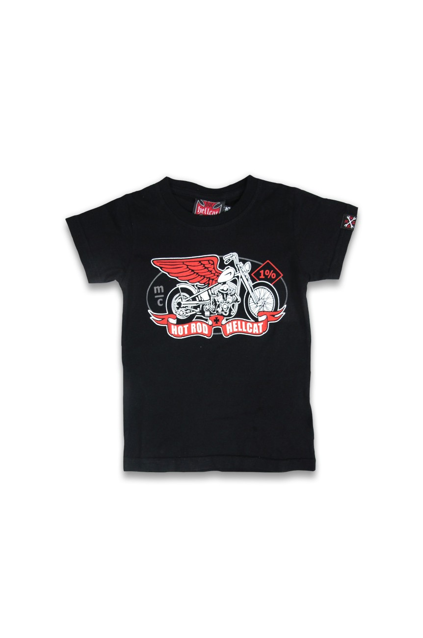 Tee shirt biker enfant MC 1%