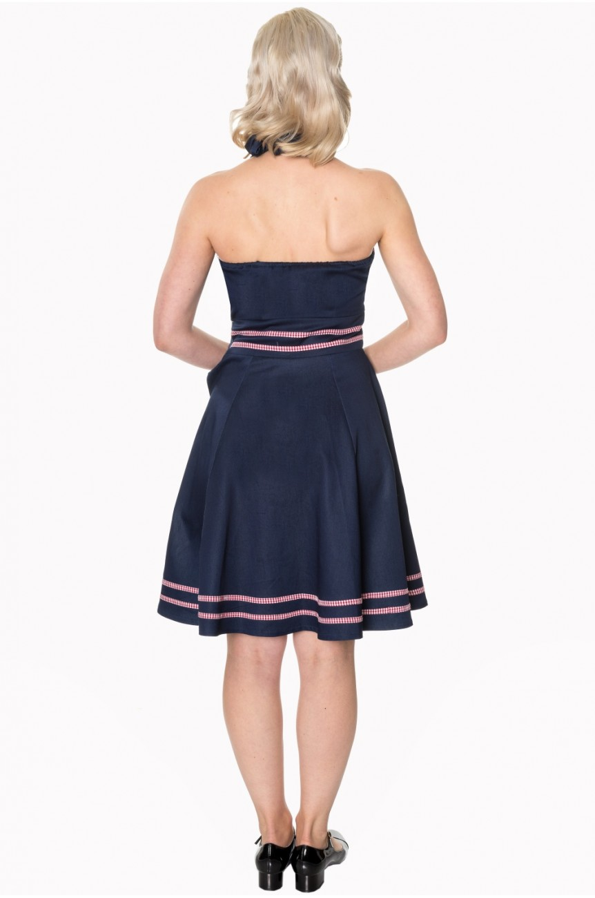 Robe rockabilly vichy Banned