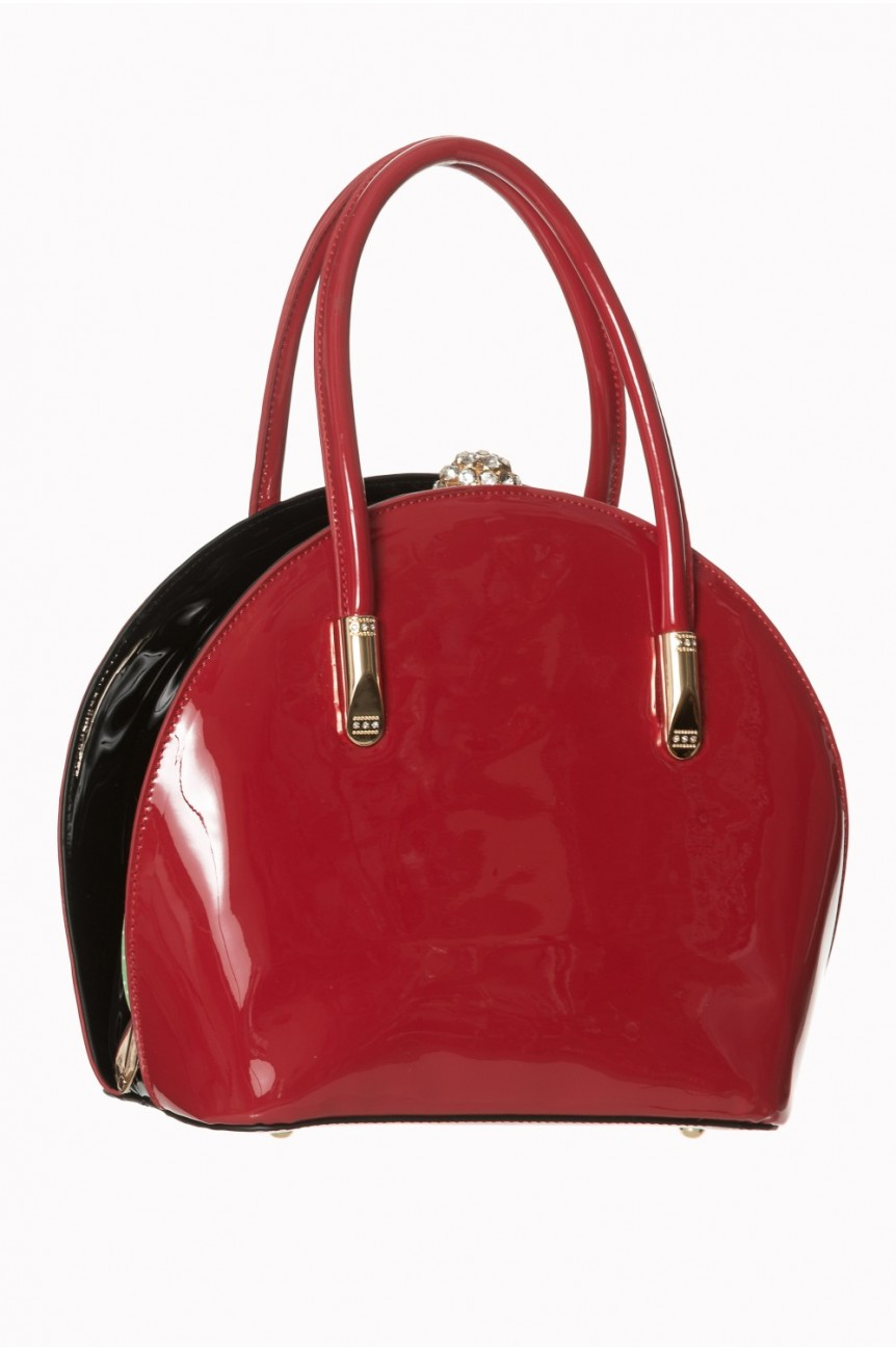 Sac rockabilly rouge