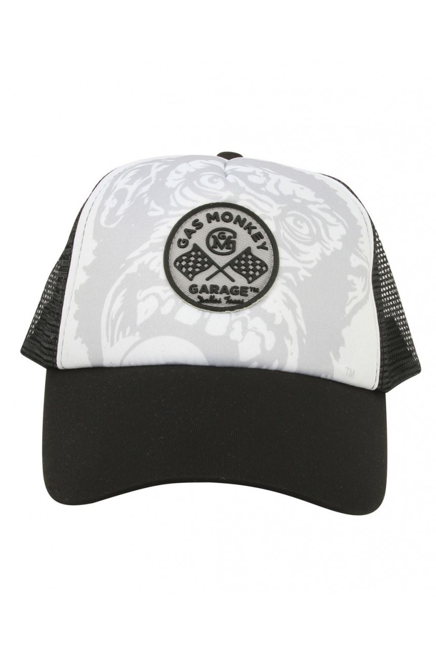 Casquette Gas monkey garage logo rond