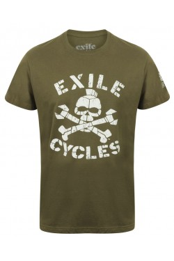 Tee shirt exile motorcycle menace