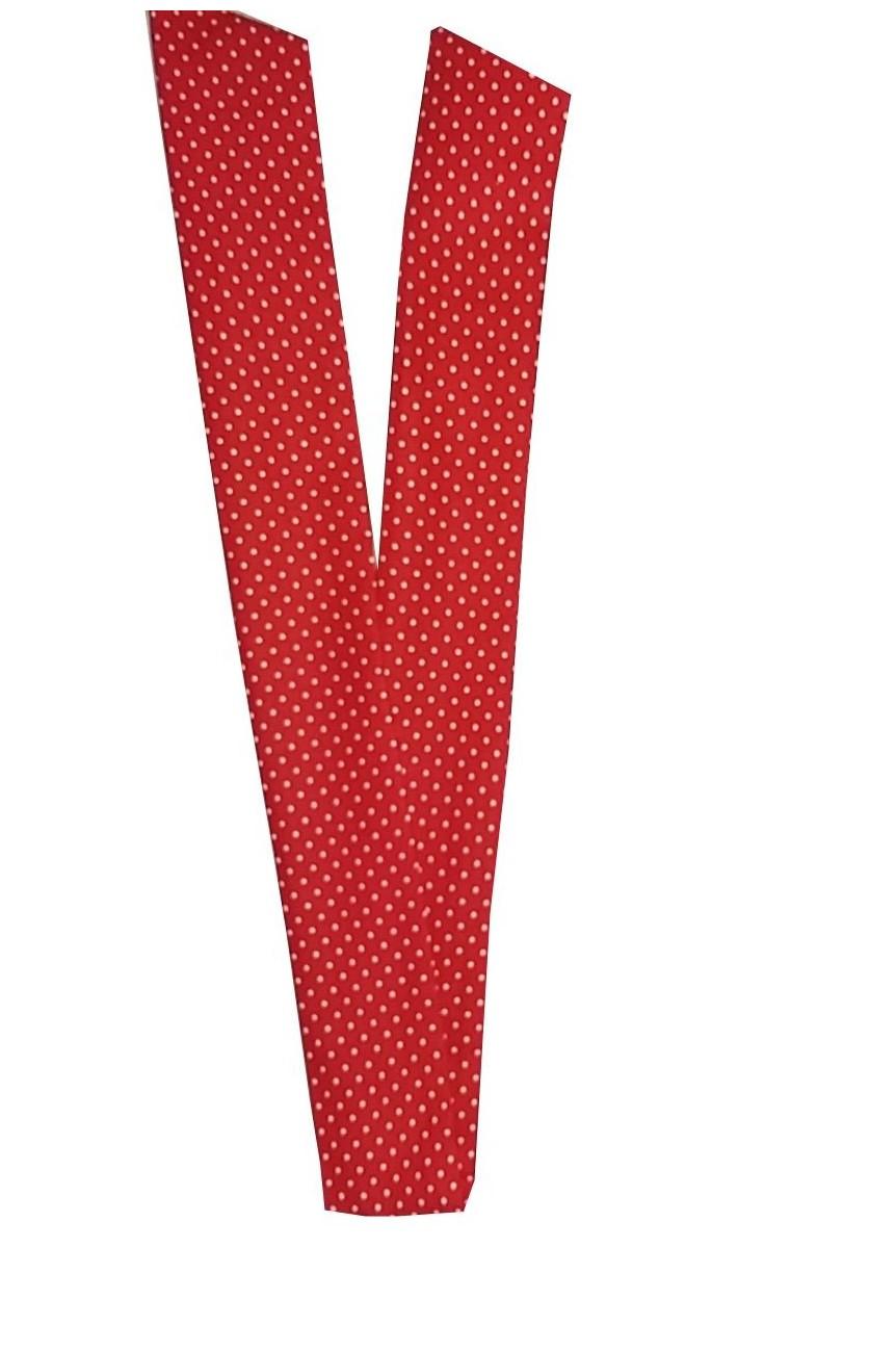 Bandeau cheveux vintage rockabilly rouge