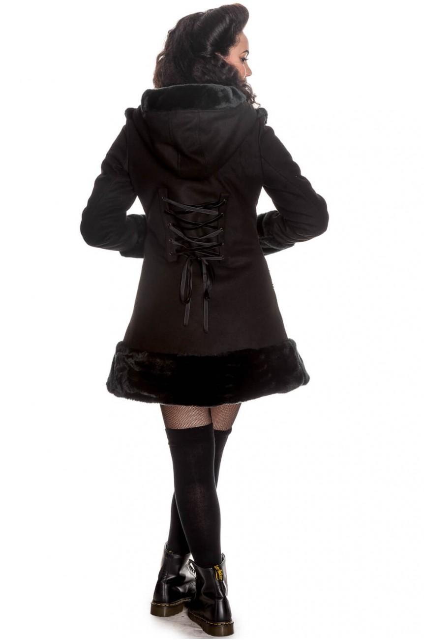 Manteau hell bunny noir 8016
