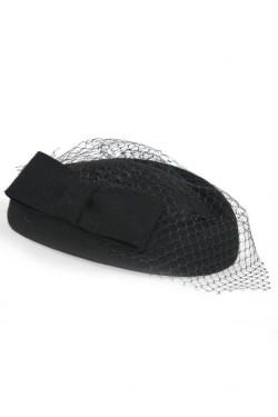Chapeau classique vintage noir
