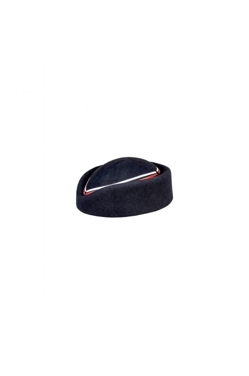 Chapeau pin up marin noir